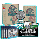 2019 World Championships - Sleeves and Deck Box - PTCGO Code - Card Cavern