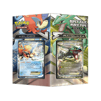 Battle Arena Decks: Rayquaza vs Keldeo PTCGO Code