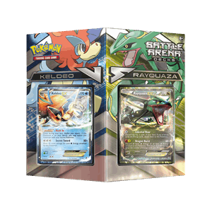 Battle Arena Decks: Rayquaza vs Keldeo PTCGO Code - Card Cavern