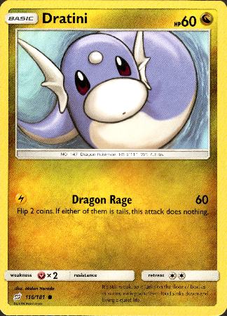 Dratini - 116/181 - Team Up - Card Cavern