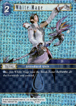 White Mage - 8-117C - Opus VIII - Foil - Card Cavern