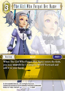 The Girl Who Forgot Her Name - 3-089R - Opus III - Foil - Card Cavern