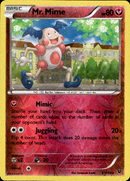 Mr. Mime - 67/124 - Fates Collide - Reverse Holo - Card Cavern
