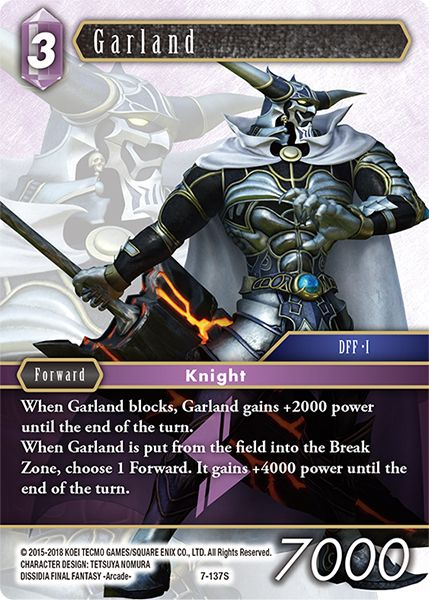 Garland - 7-137S - Opus VII - Card Cavern