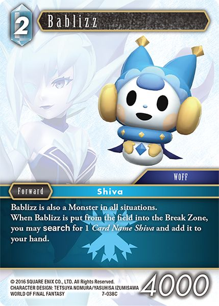 Bablizz - 7-038C - Opus VII - Card Cavern