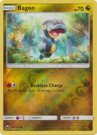 Bagon - 104/168 - Celestial Storm - Reverse Holo - Card Cavern