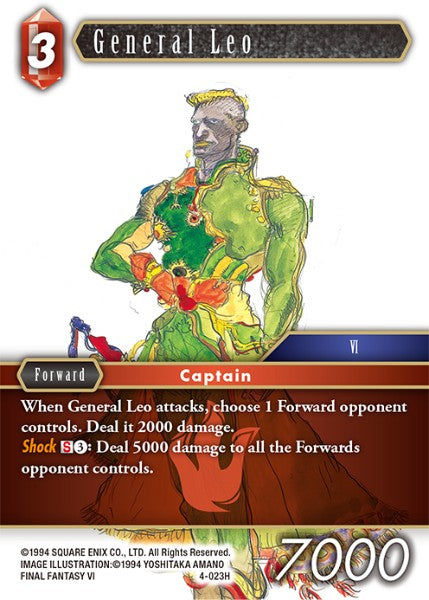 General Leo - 4-023H - Opus IV - Card Cavern