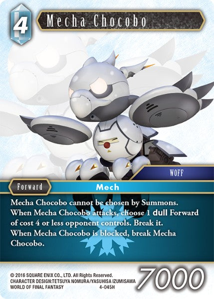 Mecha Chocobo - 4-045H - Opus IV - Foil - Card Cavern