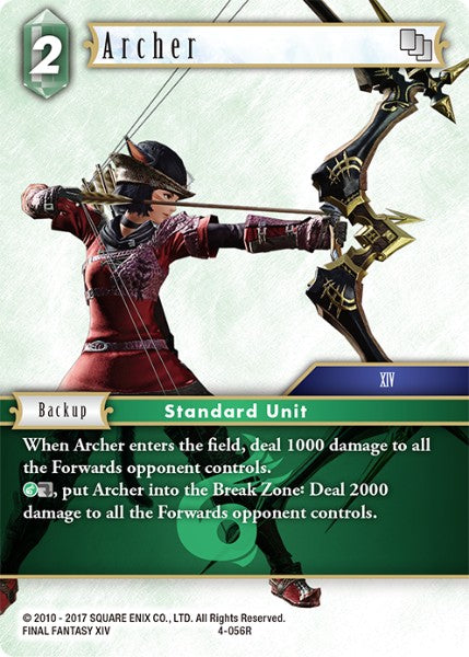 Archer - 4-056R - Opus IV - Card Cavern