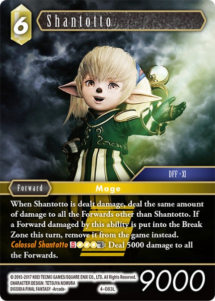 Shantotto - 4-083L - Opus IV - Card Cavern