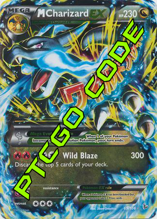 Battle Arena Decks: Mega Charizard X PTCGO Code - Card Cavern