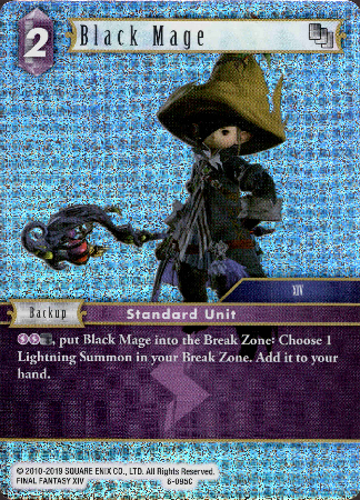 Black Mage - 8-095C - Opus VIII - Foil - Card Cavern