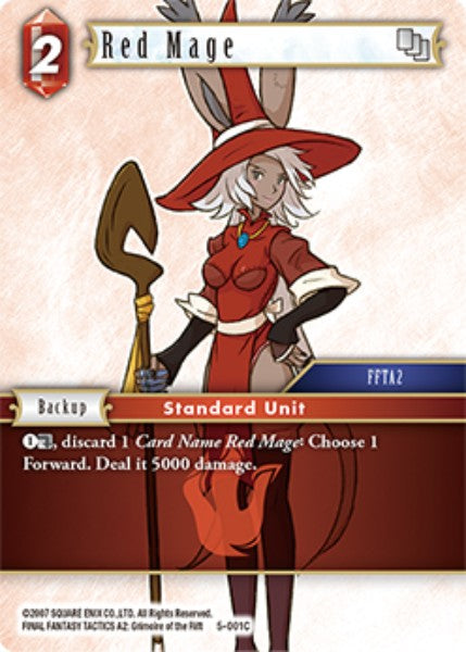 Red Mage - 5-001C - Opus V - Card Cavern
