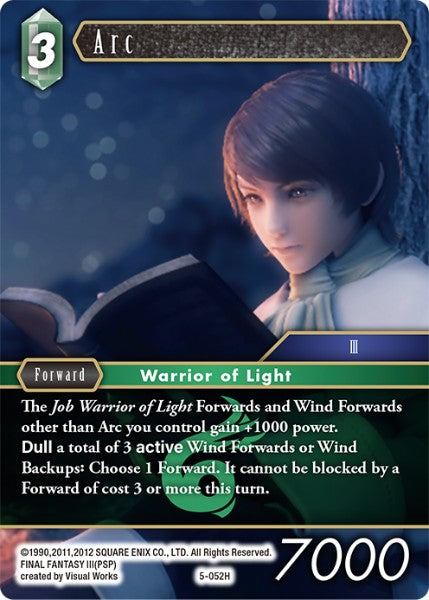 Arc - 5-052H - Opus V - Foil - Card Cavern