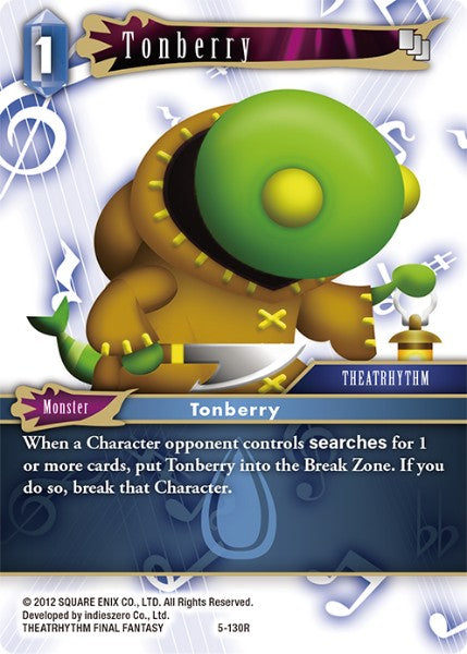 Tonberry - 5-130R - Opus V - Card Cavern