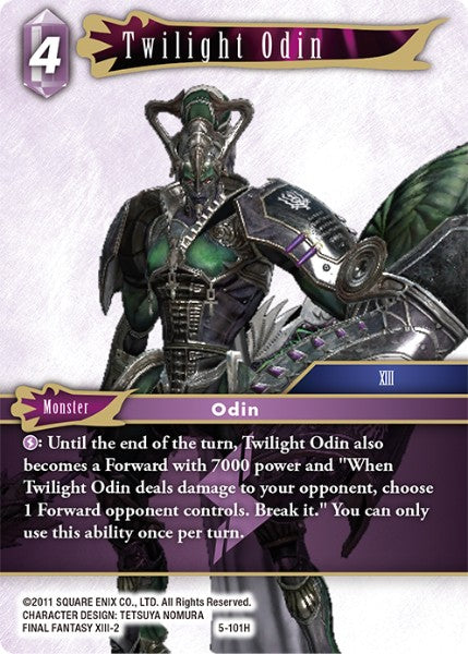 Twilight Odin - 5-101H - Opus V - Card Cavern