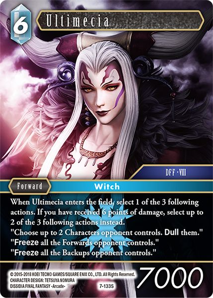 Ultimecia - 7-133S - Opus VII - Card Cavern