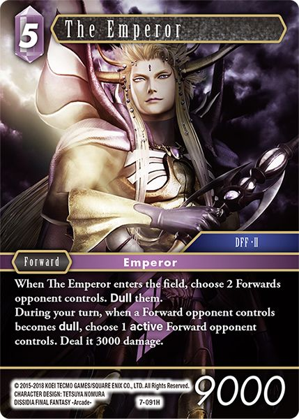The Emperor - 7-091H - Opus VII - Foil - Card Cavern