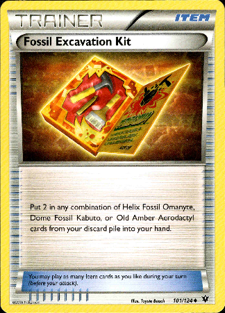 Fossil  Excavation Kit - 101/124 - Fates Collide - Card Cavern