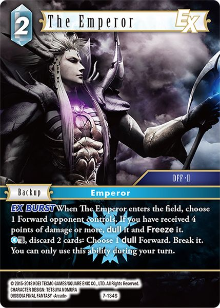 The Emperor - 7-134S - Opus VII - Foil - Card Cavern