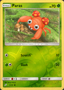 Paras - 6/181 - Team Up - Reverse Holo - Card Cavern