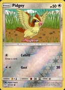 Pidgey - 121/181 - Team Up - Reverse Holo - Card Cavern