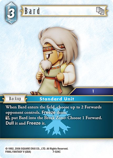 Bard - 7-024C - Opus VII - Card Cavern