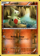 Larvitar - 40/124 - Fates Collide - Reverse Holo - Card Cavern