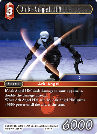 Ark Angel HM - 8-001R - Opus VIII - Card Cavern