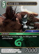 Red XIII - 8-142S - Opus VIII - Card Cavern