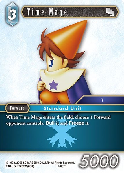 Time Mage - 7-037R - Opus VII - Card Cavern