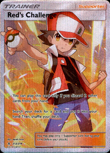 Red's Challenge Full Art - 213/214 - Unbroken Bonds