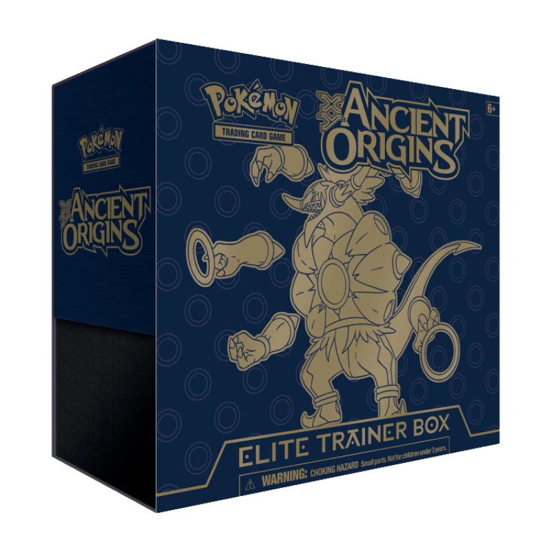 Ancient Origins ETB - Sleeves and Deck Box - Hoopa PTCGO Code - Card Cavern