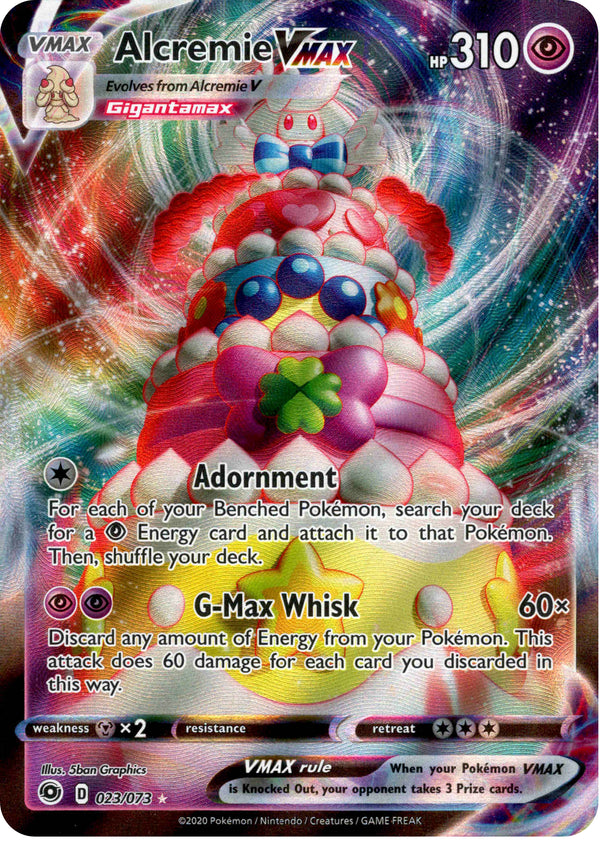 Alcremie VMAX - 23/73 - Champion's Path - Card Cavern