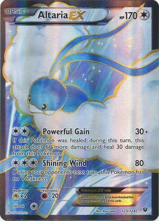 Altaria EX Full Art - 123/124 - Fates Collide - Card Cavern