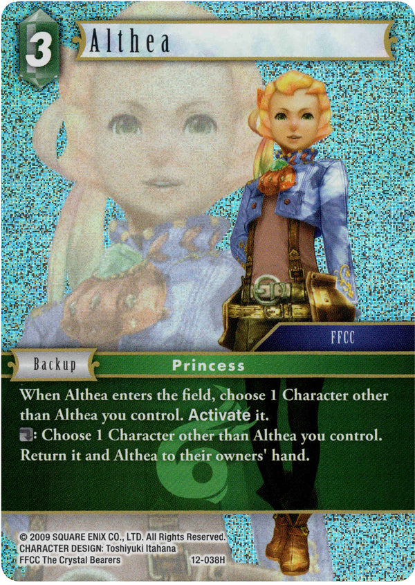 Althea - 12-038H - Opus XII - Foil - Card Cavern