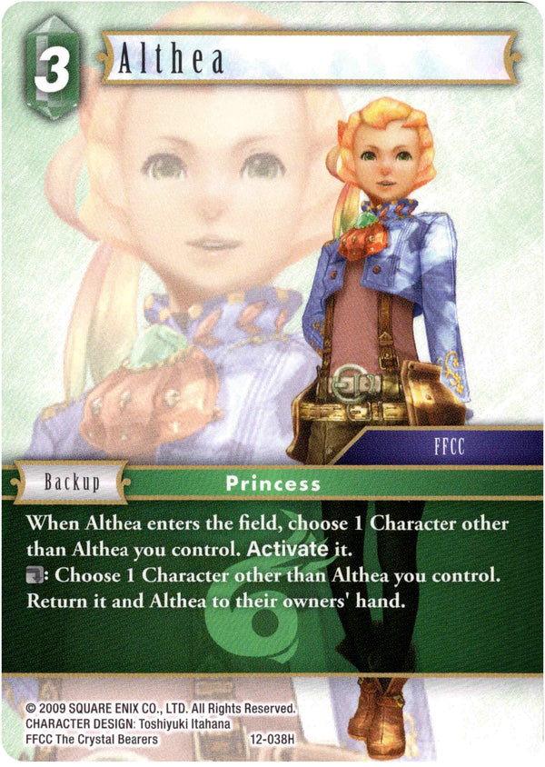 Althea - 12-038H - Opus XII - Card Cavern
