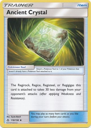Ancient Crystal - 118/156 - Ultra Prism - Card Cavern