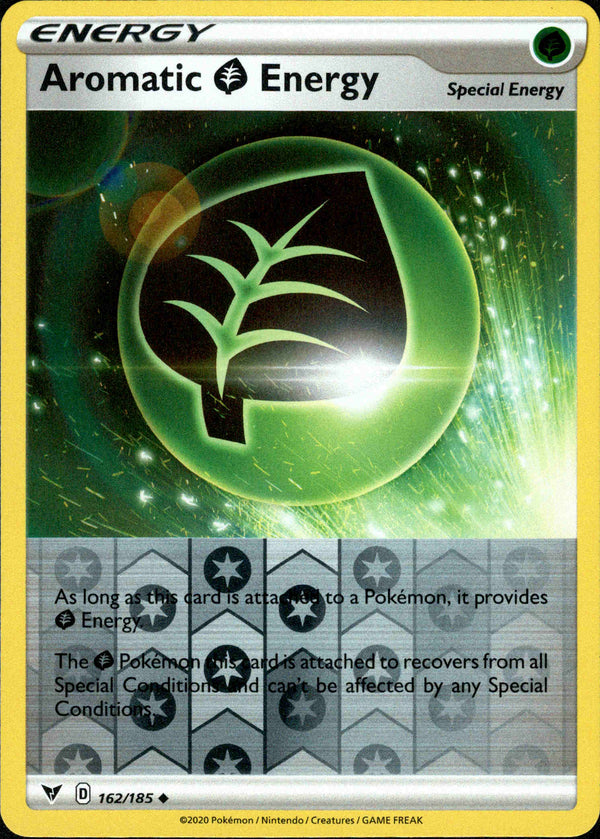 Aromatic Grass Energy - 162/185 - Vivid Voltage - Reverse Holo - Card Cavern