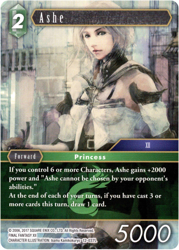 Ashe - 12-037L - Opus XII - Card Cavern
