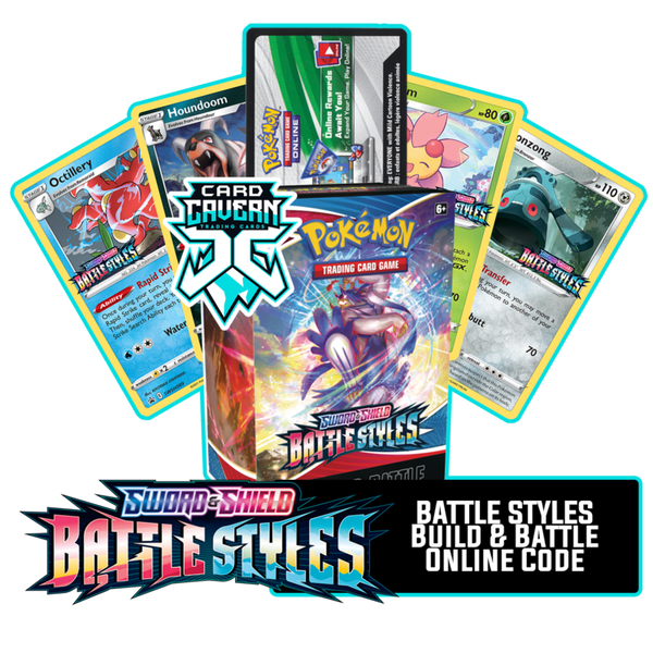 Battle Styles Prerelease Kit - 1 of 4 promos - PTCGO Code - Card Cavern
