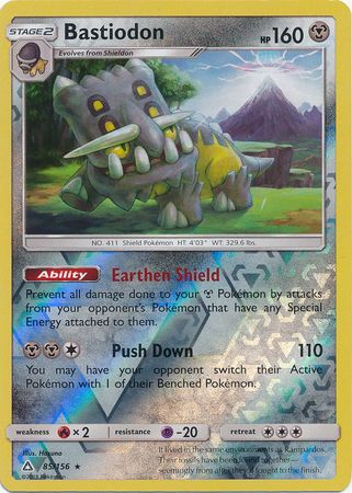 Bastiodon - 85/156 - Ultra Prism - Reverse Holo - Card Cavern