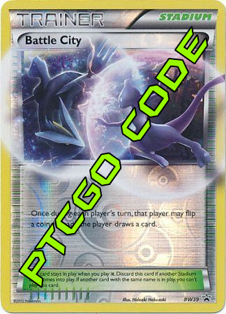 Battle City BW39 PTCGO Code - Card Cavern