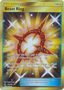 Beast Ring Secret Rare - 141/131 - Forbidden Light - Card Cavern