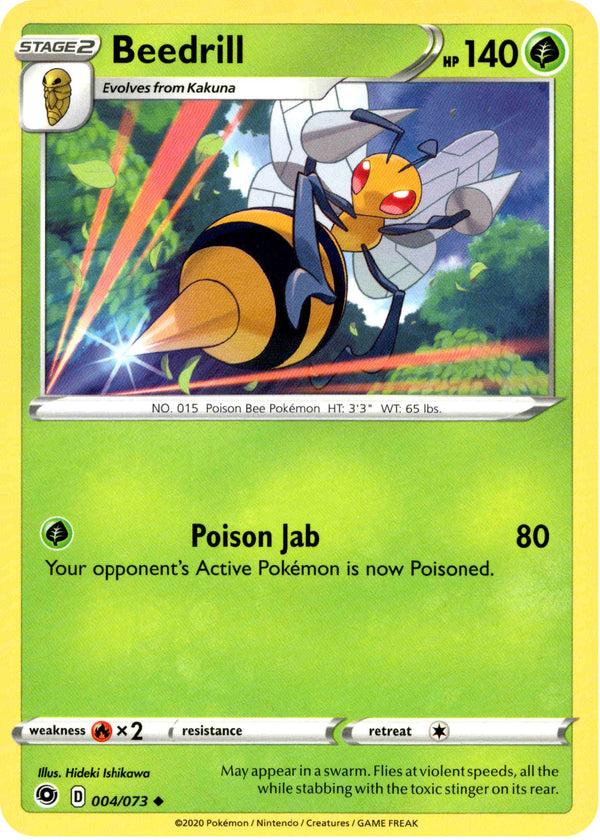 Beedrill - 4/73 - Champion's Path - Card Cavern