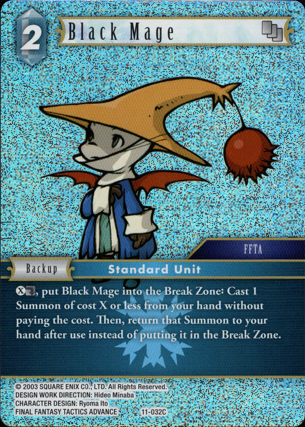 Black Mage - 11-032C - Opus XI - Foil - Card Cavern