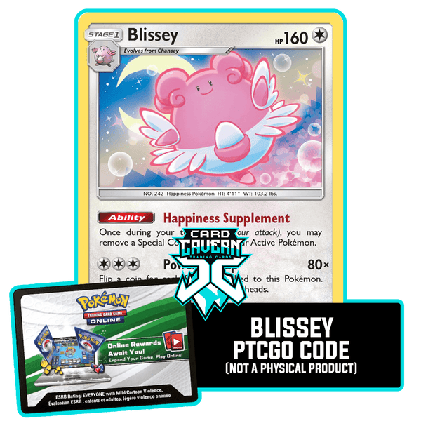 Blissey 153/214 PTCGO Code - Card Cavern