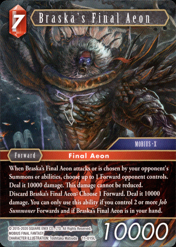 Braska's Final Aeon - 11-015L - Opus XI - Card Cavern