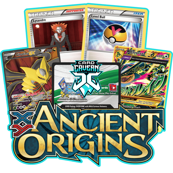Ancient Origins PTCGO Code - Card Cavern