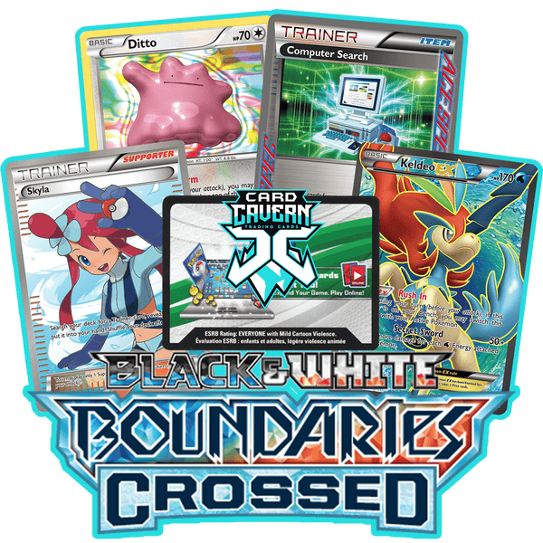 Boundaries Crossed PTCGO Code - Card Cavern